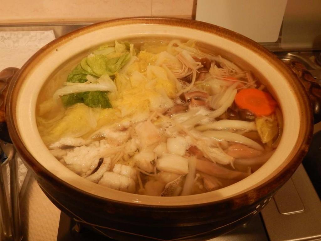 鱈と鱧の鍋