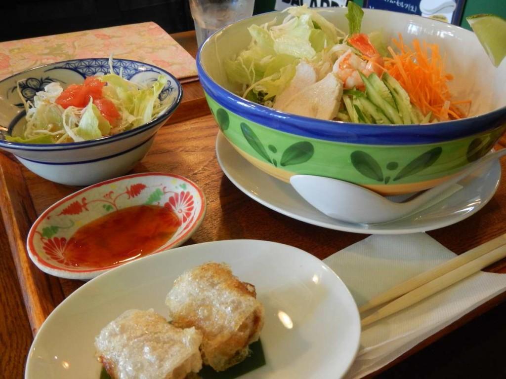 トムヤム麺セット