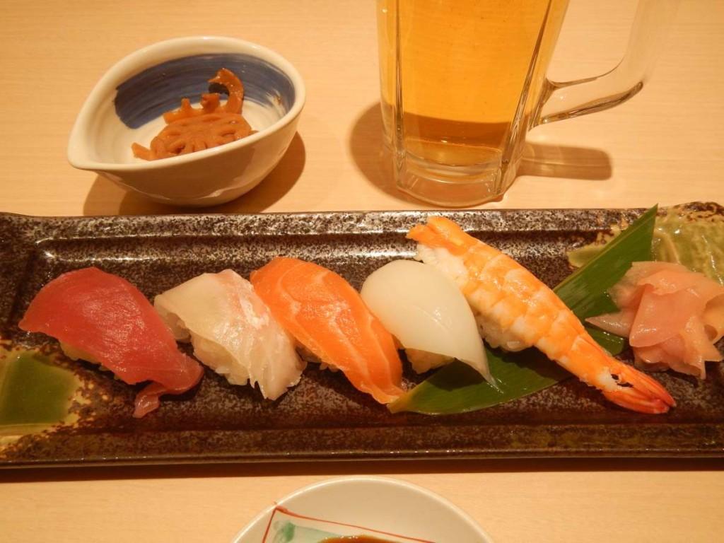 寿司5貫盛り