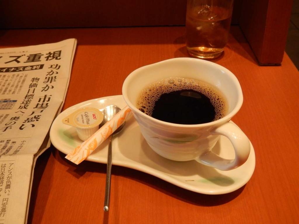楽のコーヒー