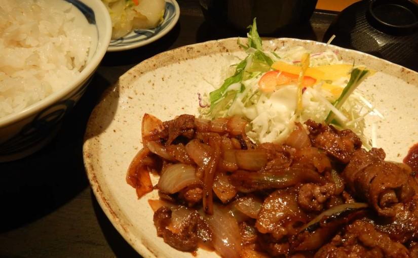 牛タンバラ焼定食