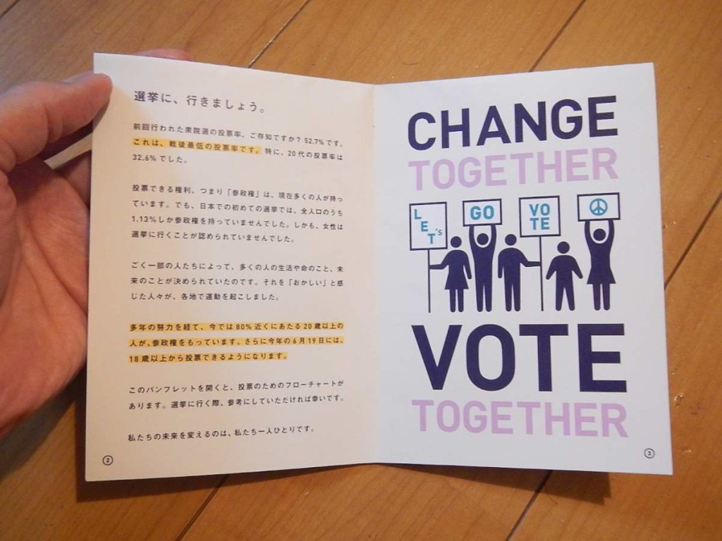 HOW TO VOTE中身