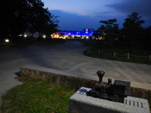 夜の梅小路公園