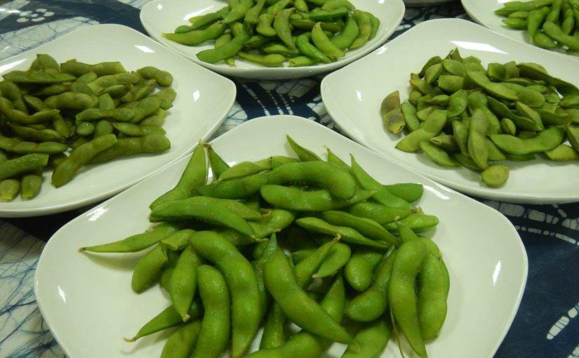 枝豆を食べくらべる会