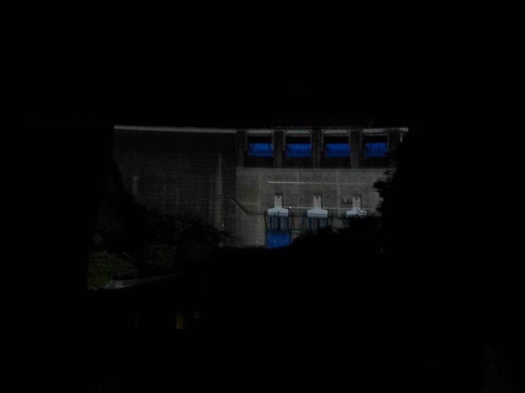 天ヶ瀬ダムライトアップ