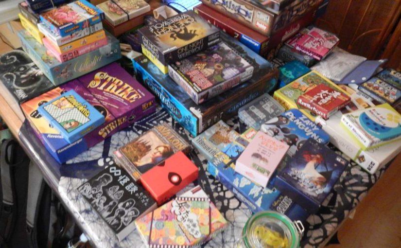 ボードゲーム、たくさん