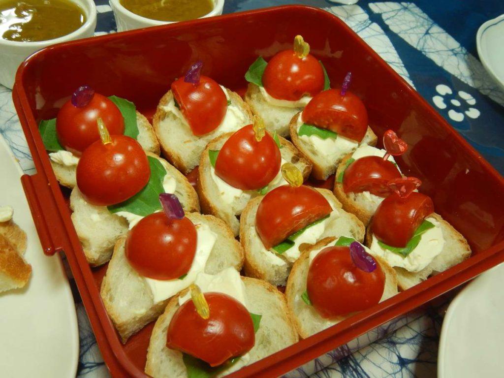 トマトのピンチョス