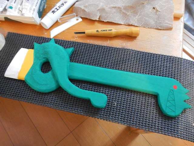 刃折れの剣作り方11