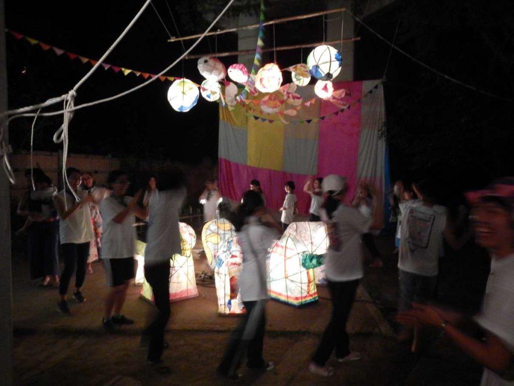 嵯峨芸術大学盆踊り