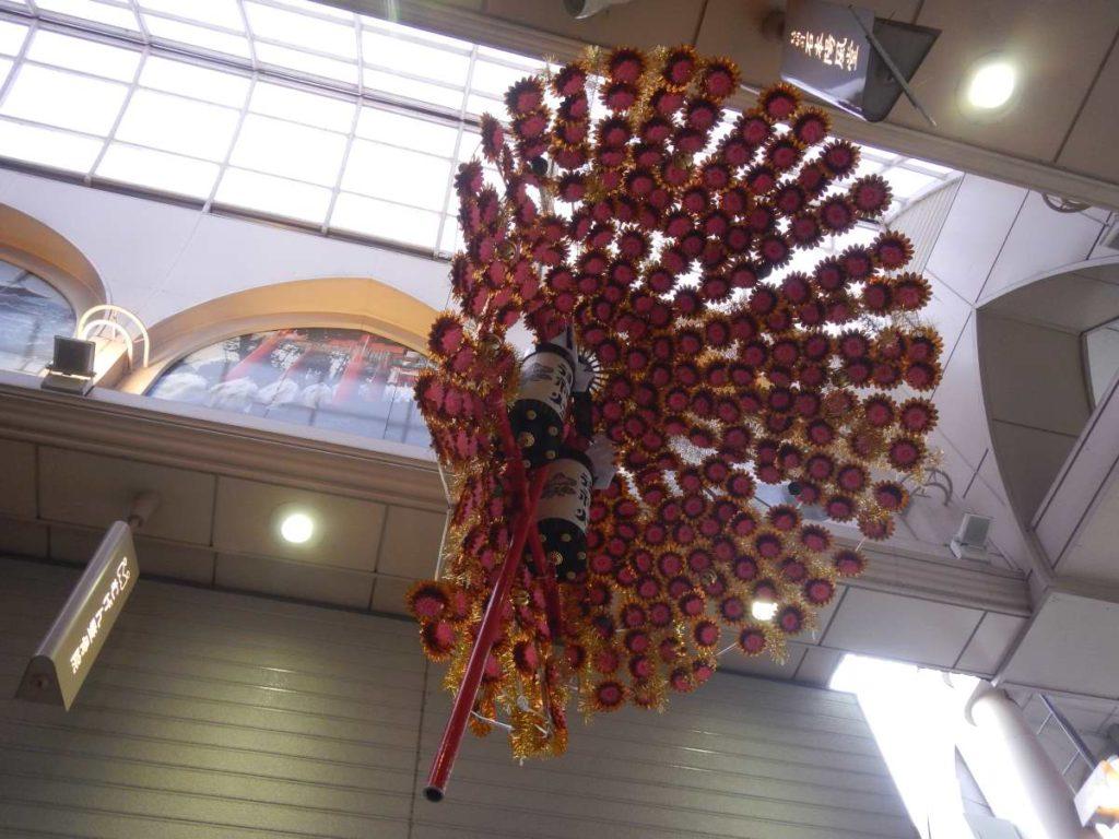 折れた花傘2