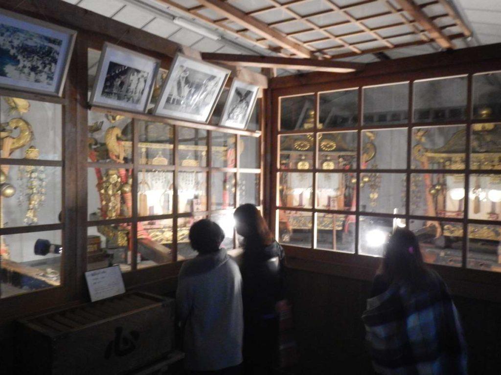 日吉大社の神輿7基