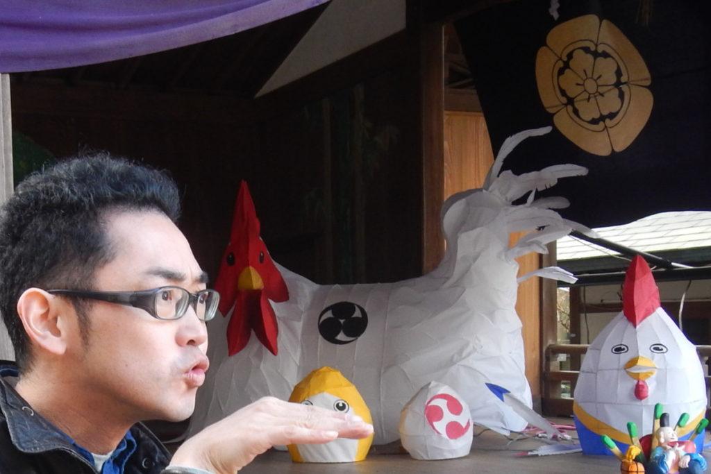 酉年初詣粟田神社