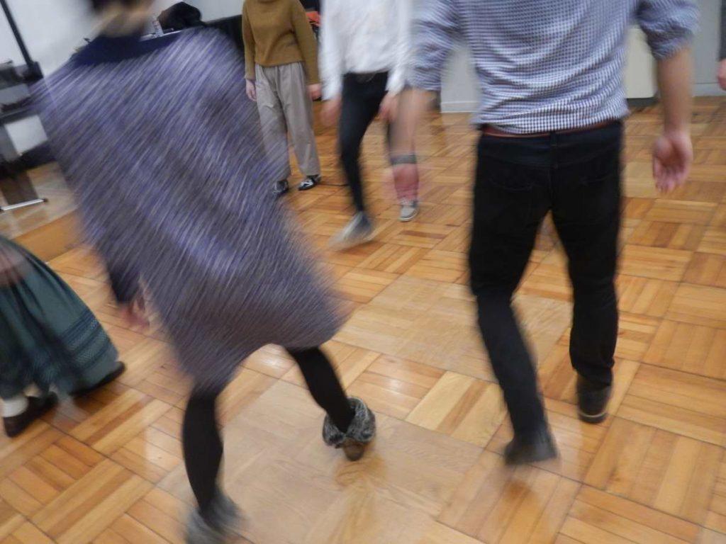 フランスのフォークダンスライン