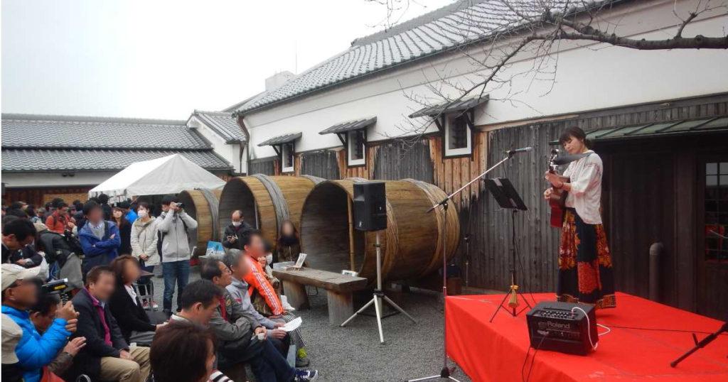 日本酒まつりライブ