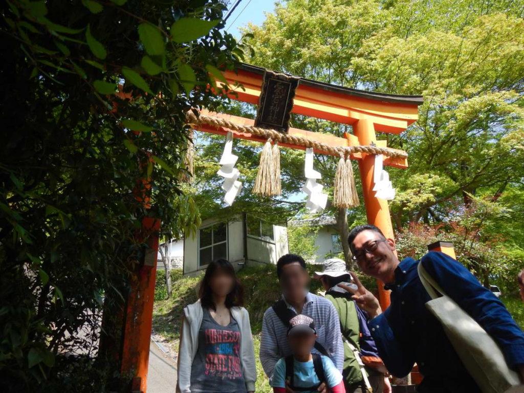 愛宕神社2の鳥居