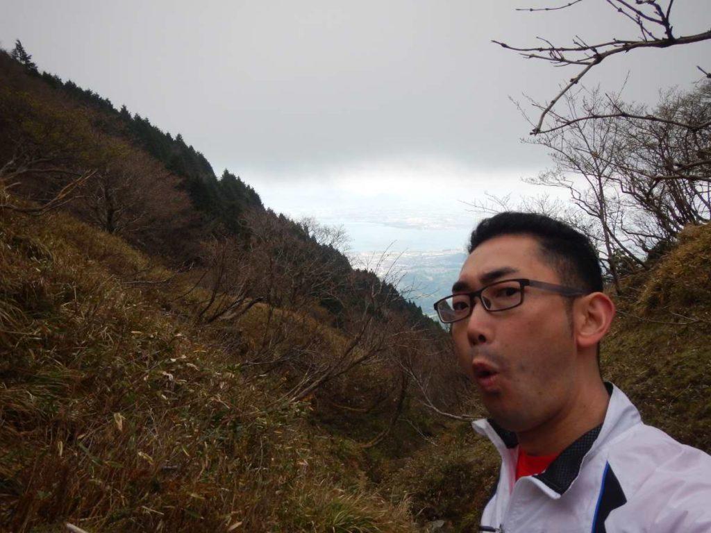 蓬莱山、寒い