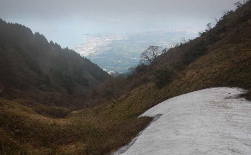 蓬莱山の風景
