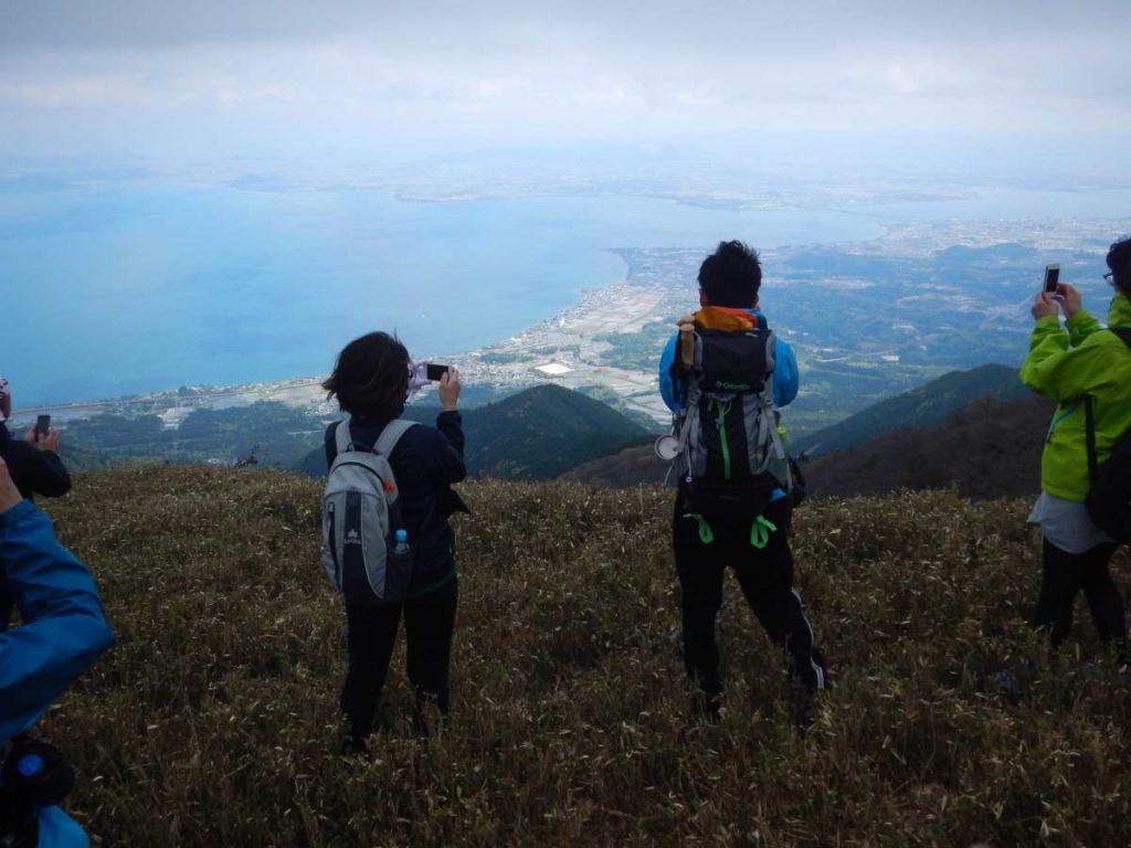 蓬莱山、ビュースポット