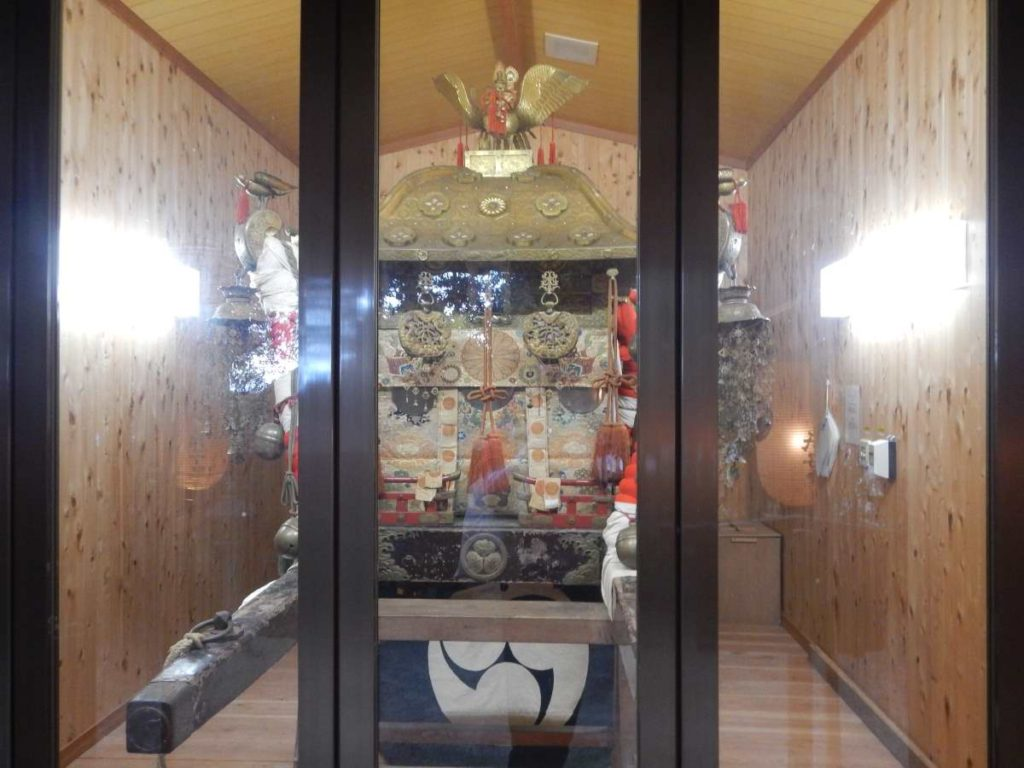 樹下神社、古いお神輿