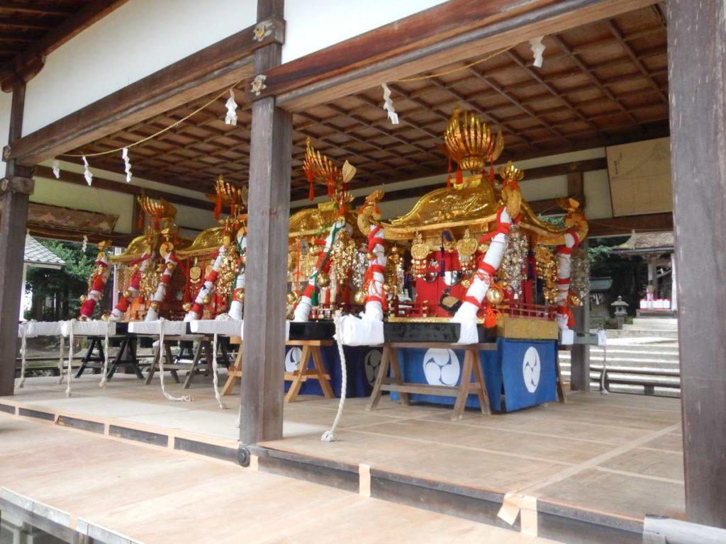 樹下神社、お神輿