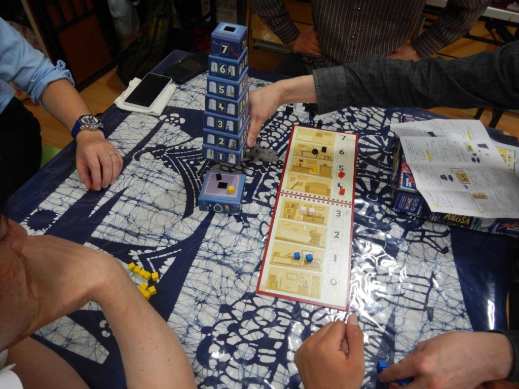 タワーのゲーム