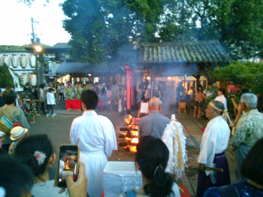 縣神社の祈祷
