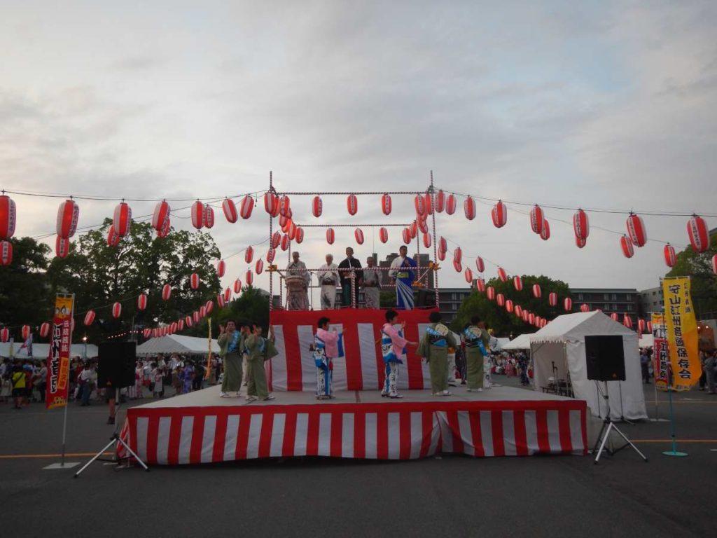 西本願寺盆踊り