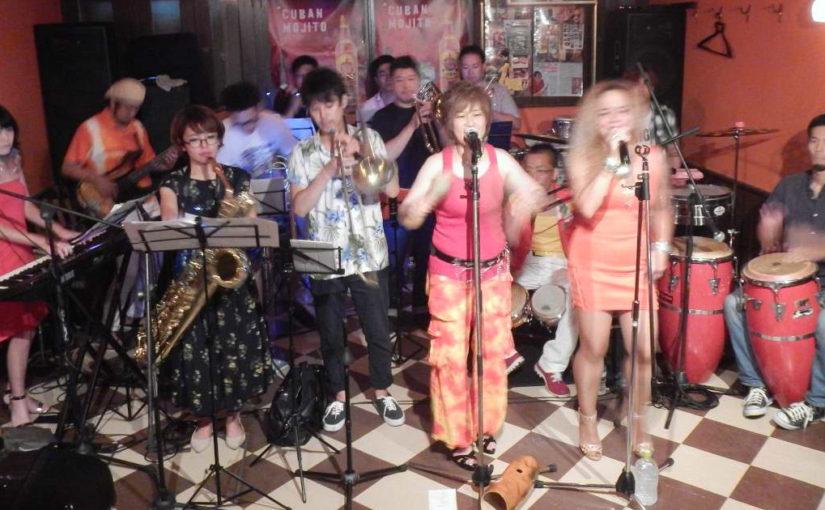 ライブで踊るサルサ、ヤバすぎ!楽しすぎ!