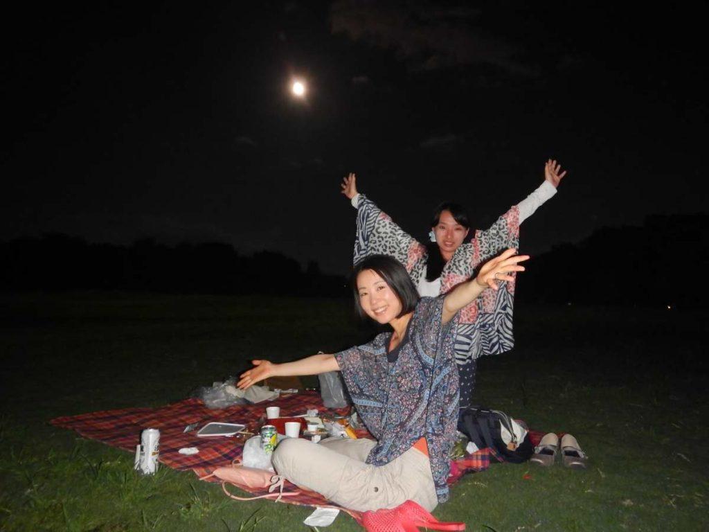 梅小路満月ピクニック