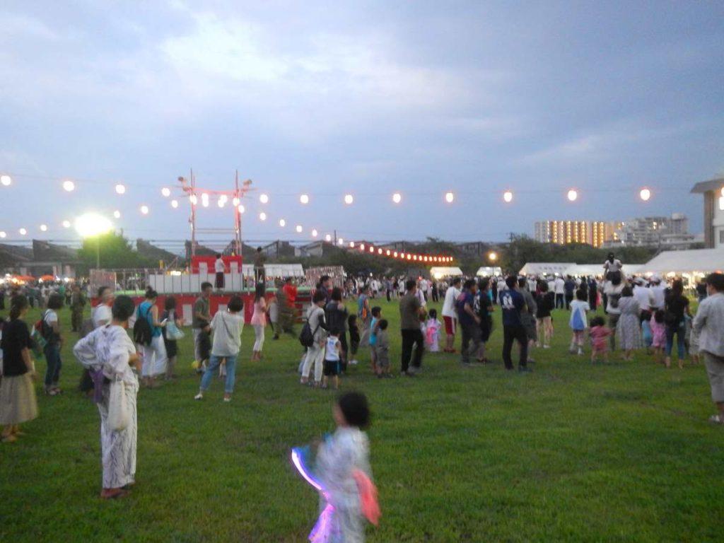 桂駐屯地盆踊り