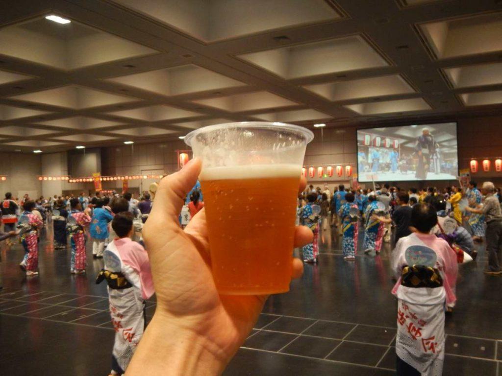 江州音頭フェスティバル京都大会ビール