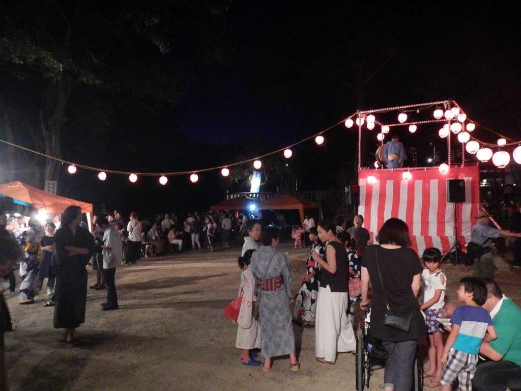 高雄盆踊り大会