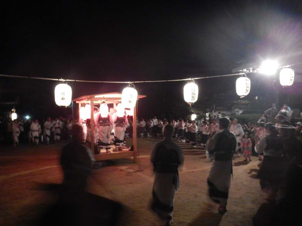 松ヶ崎さし踊り