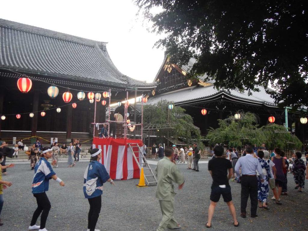 盆踊りin仏光寺