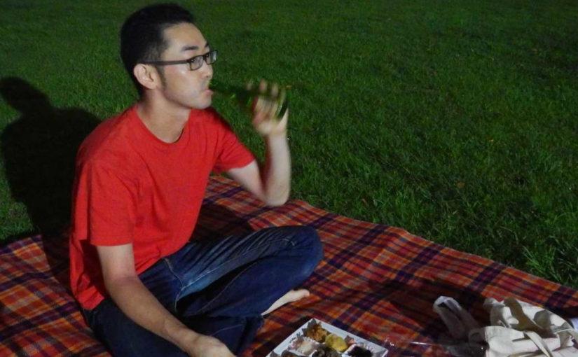 寂しくもない楽しくもない、ひとりナイトピクニックをやってみた