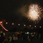 芝生も花火も食べ物も、そして盆踊り。桂駐屯地納涼夏祭り