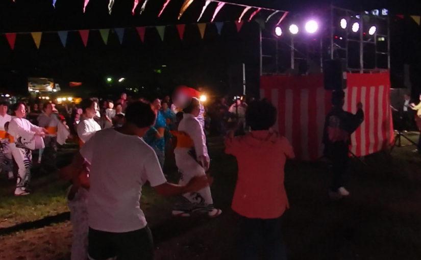 地元の人ら強いなぁ「伏見納涼盆踊り」