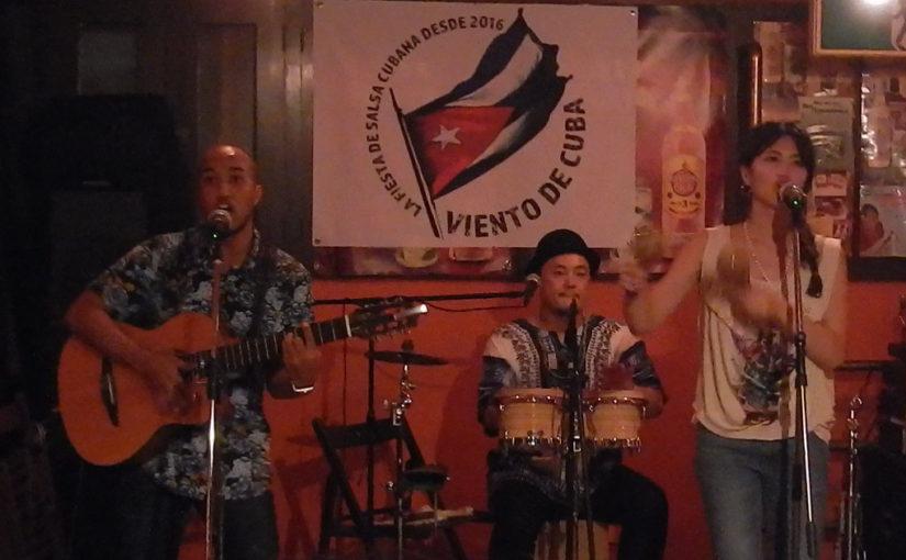 太陽の音楽だな!キューバ音楽をライブで聴く