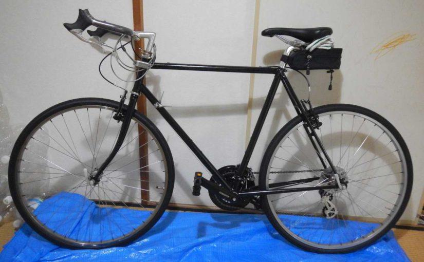 ボロボロだった思い出の自転車がやっと復活!