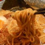 旨すぎる!台風の思い出は、頑固麺の濃厚海老白湯。