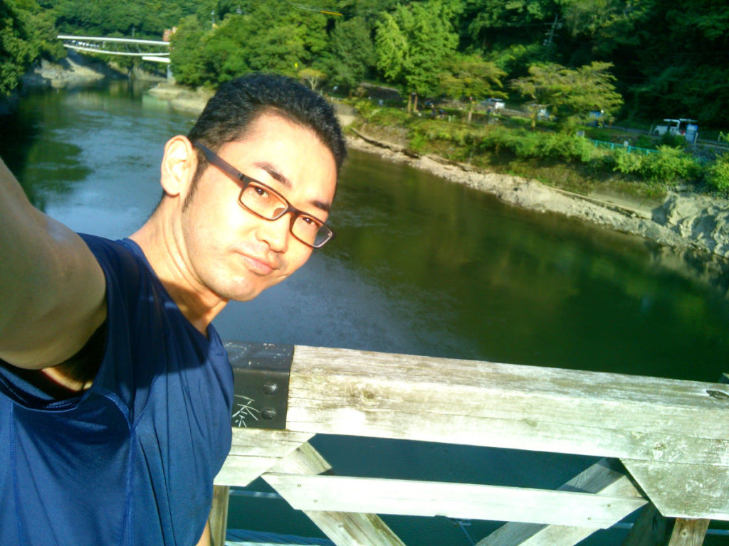 天ヶ瀬つり橋