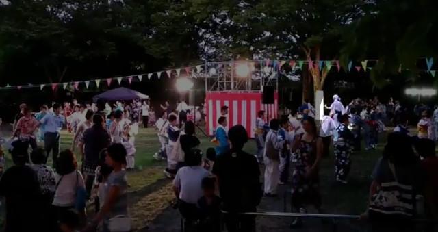 わらじろう伏見港盆踊り