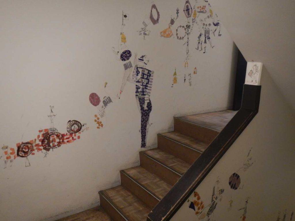 DUCEMIX BUIDINGの階段