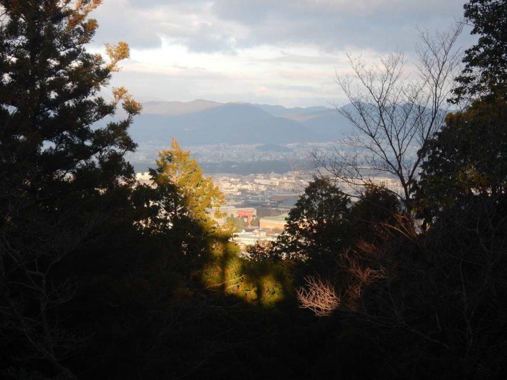 伊勢神宮遥拝所からの展望