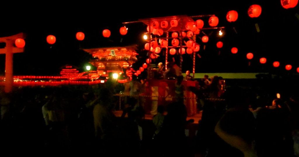 伏見稲荷宵宮祭盆踊り