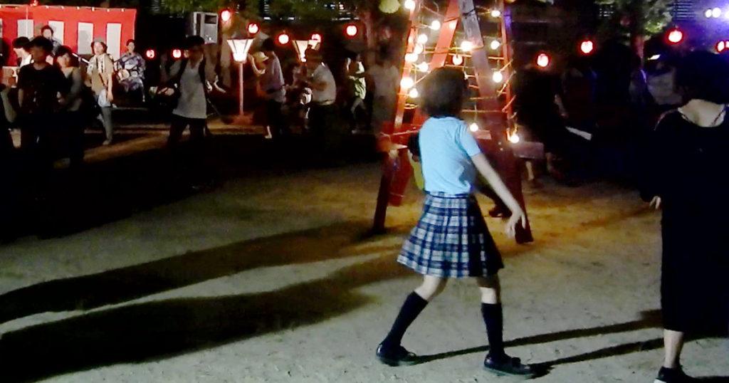 ようせい盆踊り女子高生