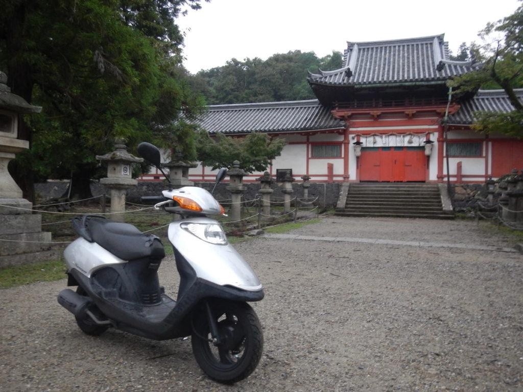 奈良の二月堂のどこか