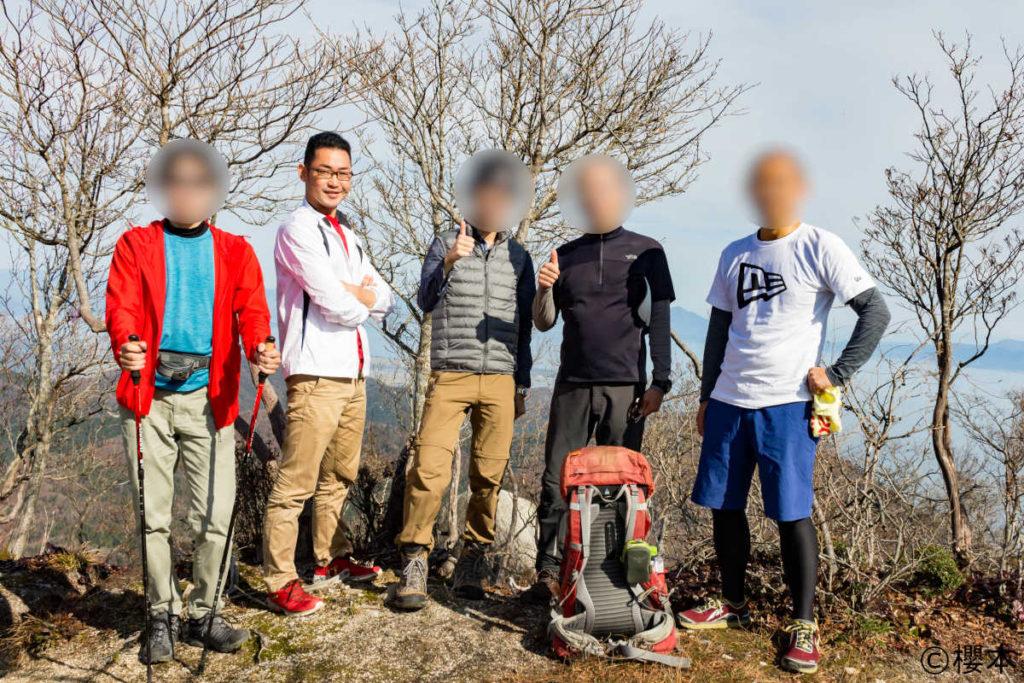 ヤケオ山にて
