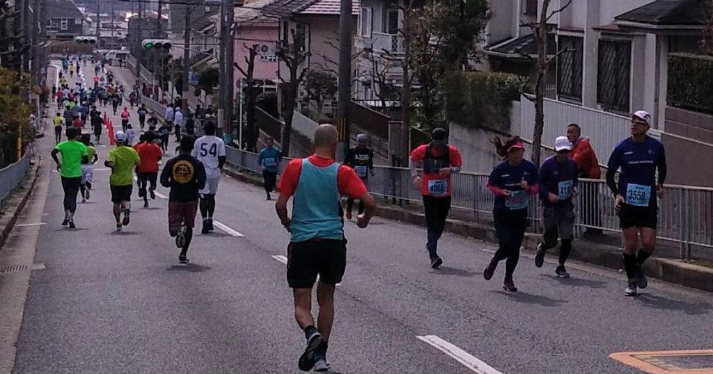 宇治川マラソンすれ違い