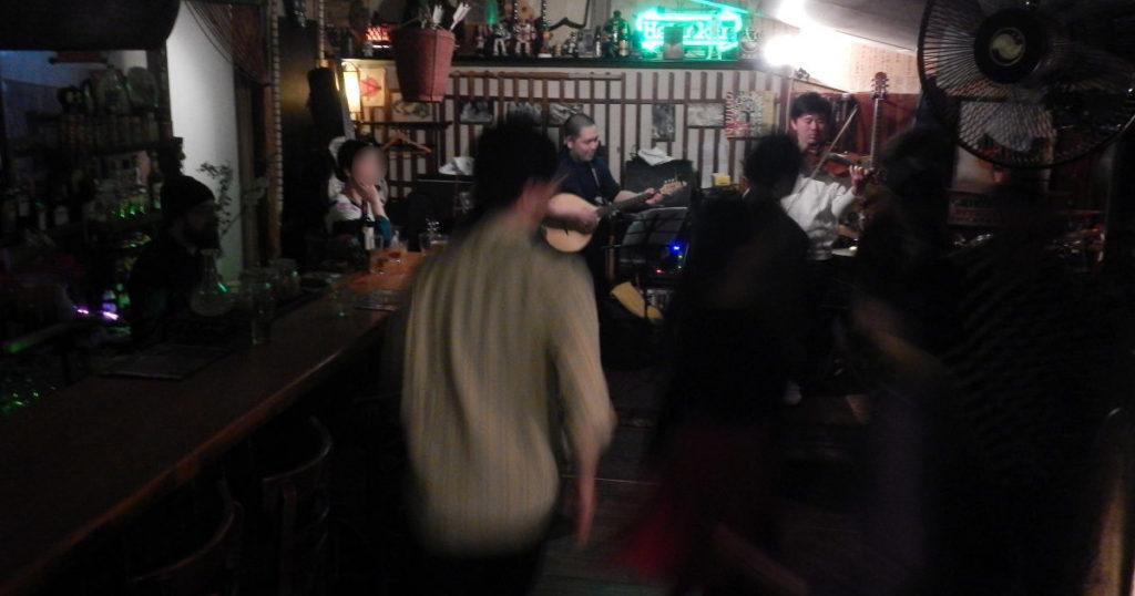 FSNでフランスのフォークダンス